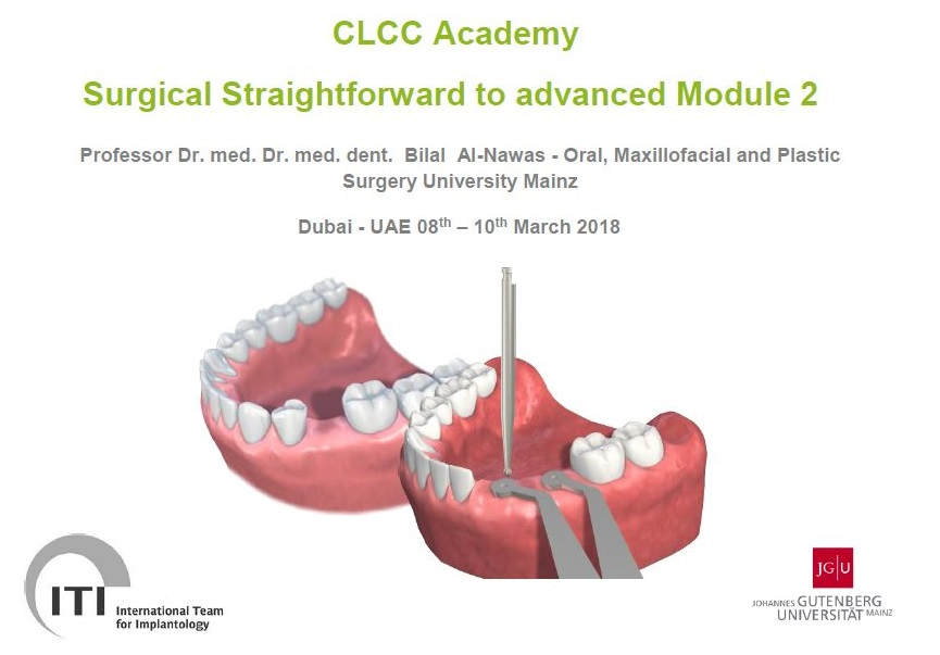 Poza curs implantologie CLCC Academy Surgical Straightforward to advanced Module 2